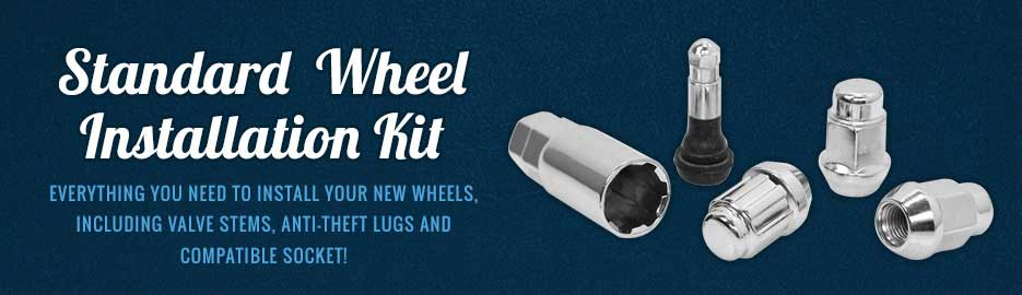 Wheel Install Kit