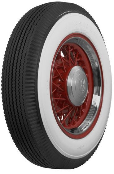 Firestone | 3 Inch Whitewall Nonscript | 650-16