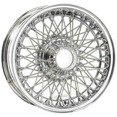 Dayton Wire Wheel-Austin-Healey-100/4-Tube Type-15x4-48-Chrome