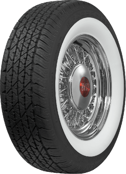 BF Goodrich Silvertown Radial | 2 3/4 Inch Whitewall | 225/70R15