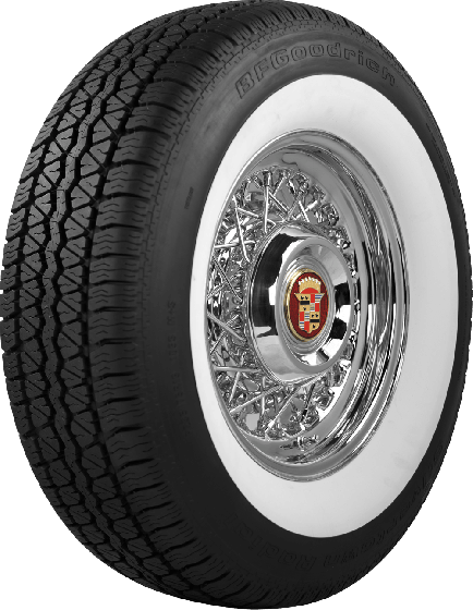 BF Goodrich Silvertown Radial | 2 1/4 Inch Whitewall | 175/80R13