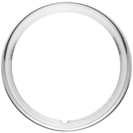 Trim Ring | 14 Inch Hot Rod Ribbed