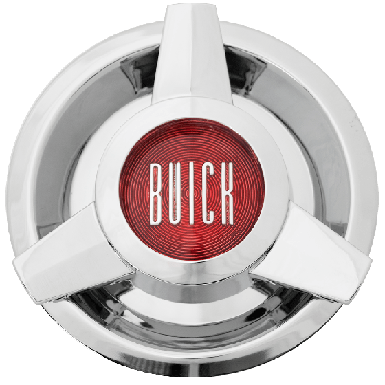 Buick Wire 3 Bar Spinner Cap