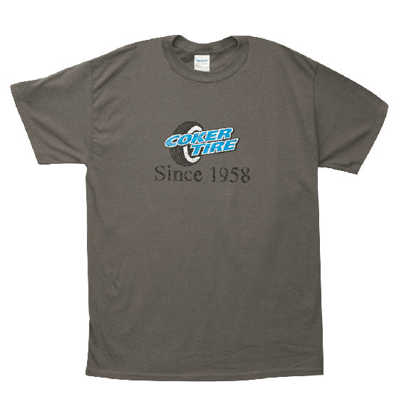 Coker Since 1958 T-Shirt - Gray
