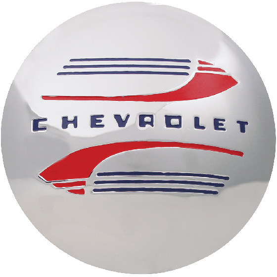 Chevrolet Cap For Hot Rod Steel Wheel | 1941-47