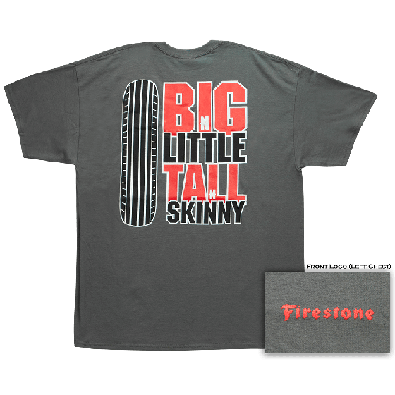 Firestone Big-N-Little T-Shirt | Medium