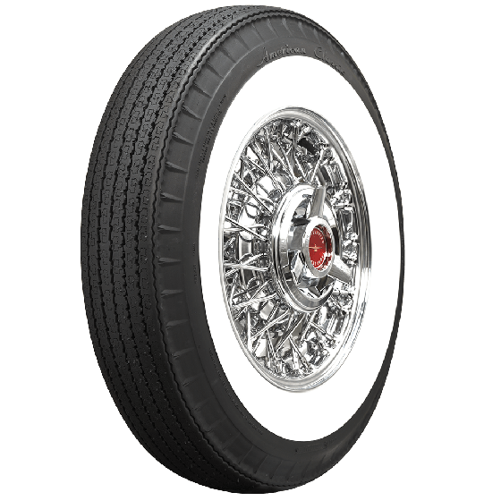 American Classic Radial | 2 3/4 Inch Whitewall | 710R15