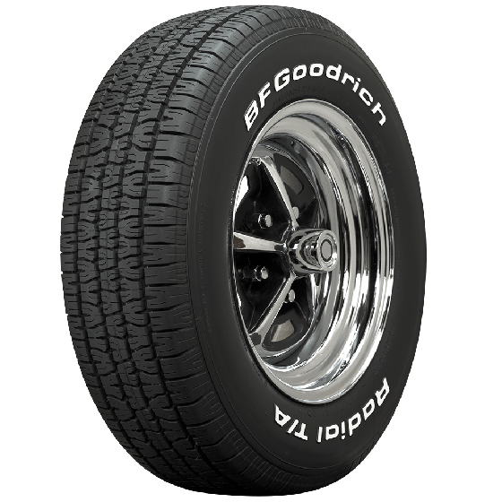 BF Goodrich Radial T/A | White Letter | 235/60R14