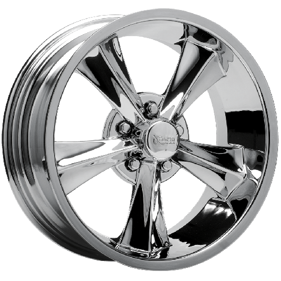 Rocket Booster Modern Muscle Wheel | Chrome