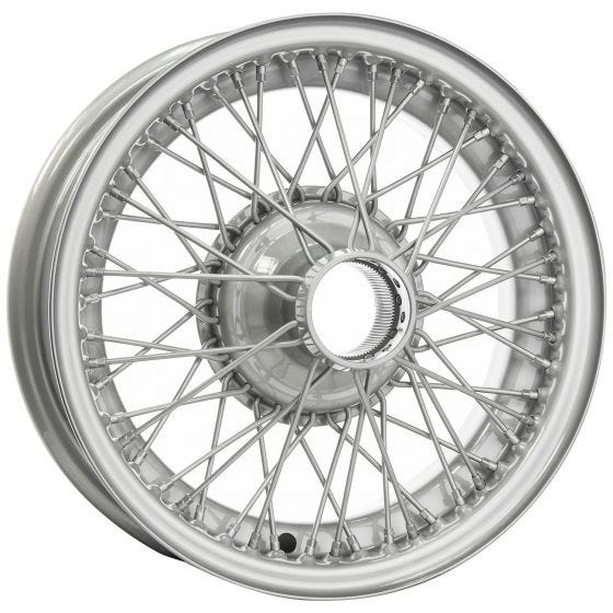16x5 Dayton Wire 54 Spoke Painted TT
