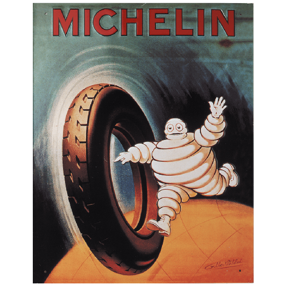 Postcard | Michelin | Globetrotting Bib