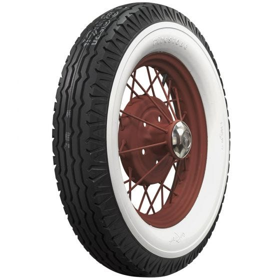 Firestone | 3 1/4 Inch Double Whitewall | 550-18