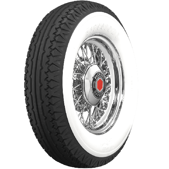Firestone | 4 3/4 Inch Whitewall | 750-17