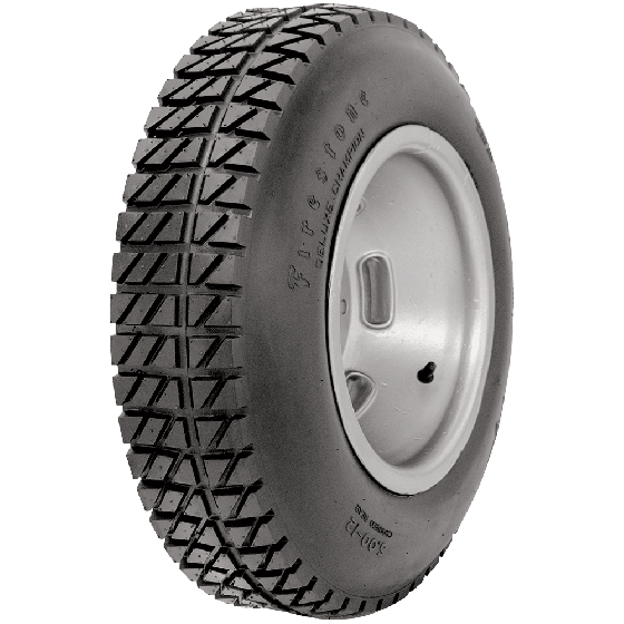 Firestone Dirt Track | Grooved Rear | 500-12