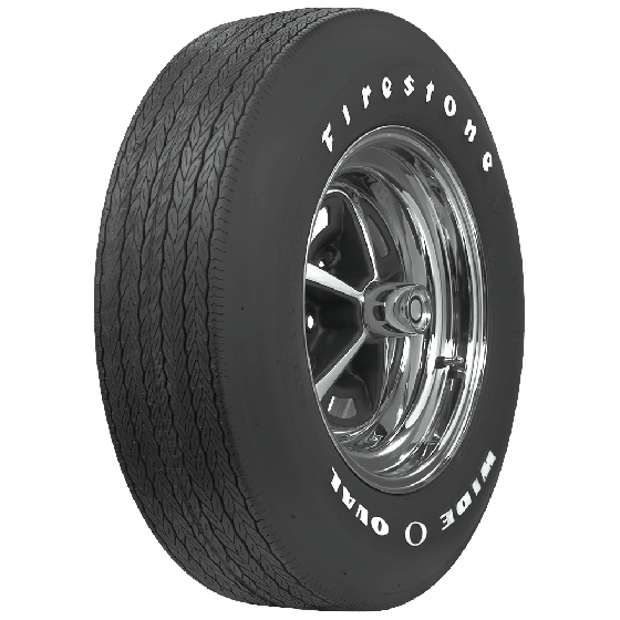Firestone Wide Oval | Raised White Letter | G70-14