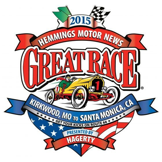 """Great Race 2015 Decal 