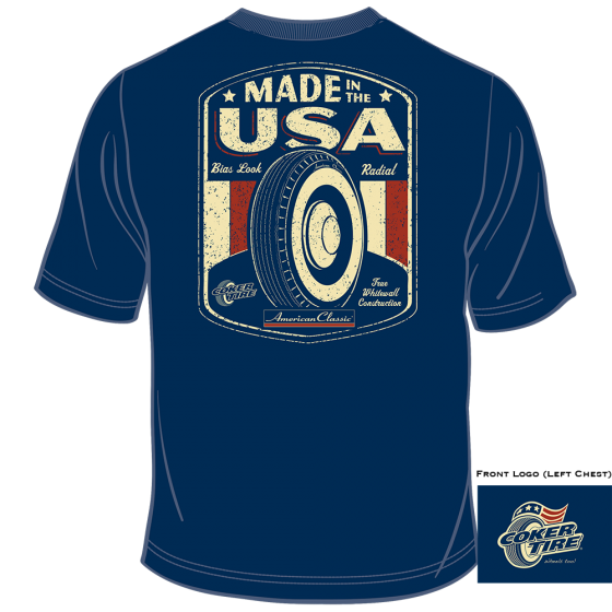 American Classic Made In USA T-Shirt | Extra Large