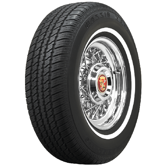 Maxxis | 3/4 Inch Whitewall | 235/75R15