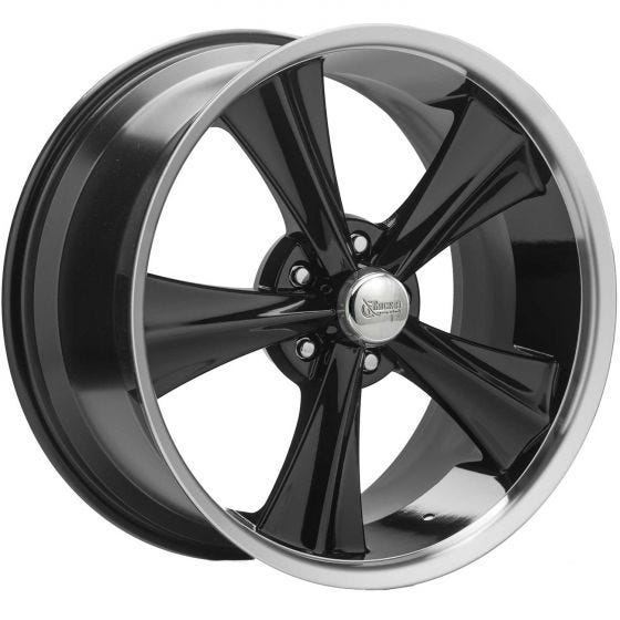 20x10 Booster | 5x115mm bolt | 24mmOS | Black Finish