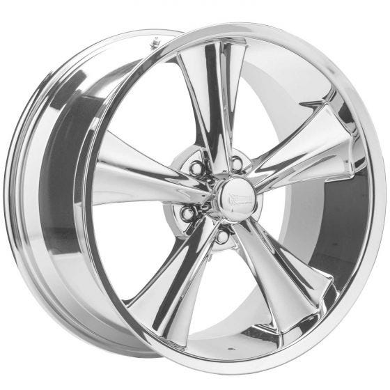 20x10 Booster | 5x115mm bolt |  24mmOS | Chrome Finish