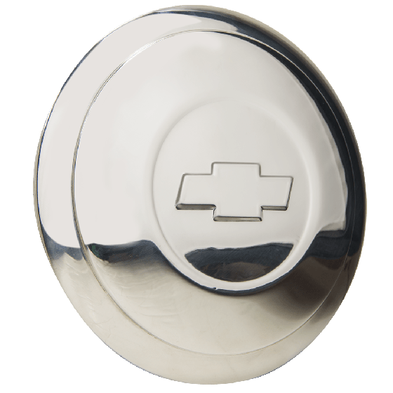 "Hot Rod Wire Cap | Chevrolet Bowtie | 5.75"" Back Diameter"
