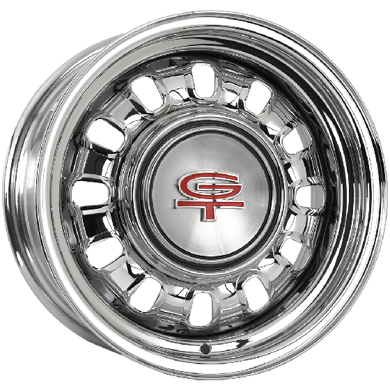 "15x6 Ford Styled Steel 1968-69 | 5x4 1/2"" bolt 
