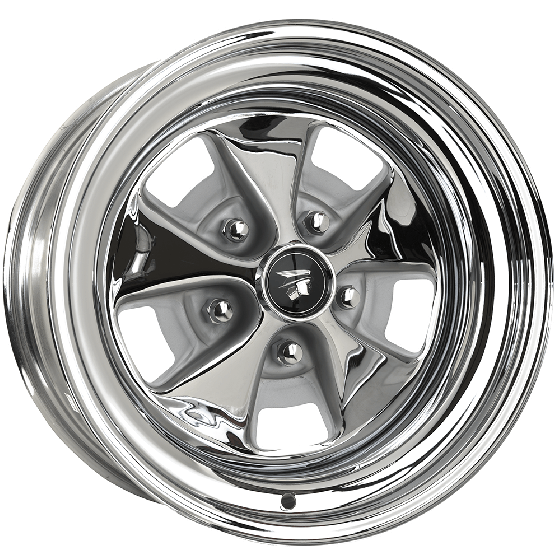"15x8 Cougar 1967-68 | 5x4 1/2"" bolt 