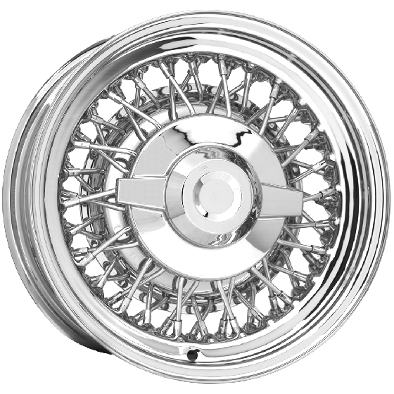 "15x6 Chrysler Wire | 5x4 1/2"" bolt 