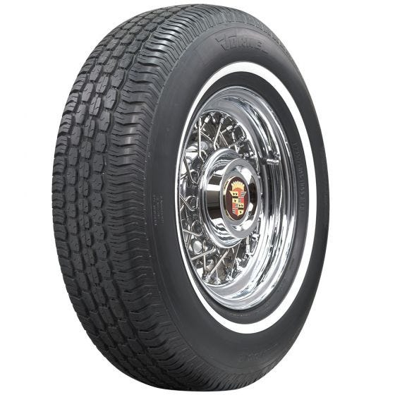 Tornel | 5/8 Inch Whitewall | 235/75R15