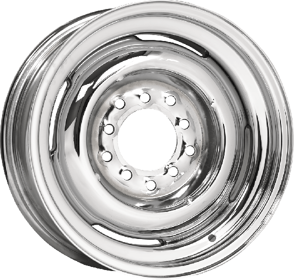 Hot Rod Steel Wheel | Chrome