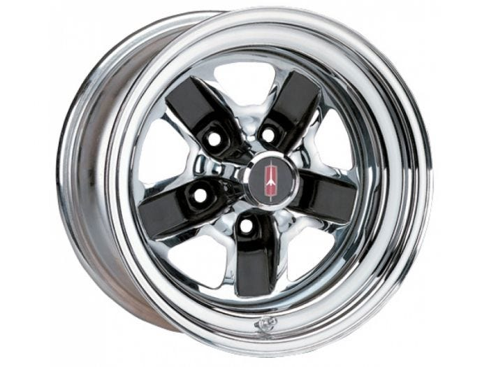 14x6 Olds SS3 | Chrome/Black | Discontinued