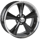 Rocket Booster Modern Muscle Wheel | Gloss Black