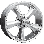 Rocket Booster Classic Muscle Wheel | Hyper Silver