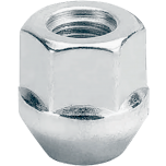 Open-End Acorn Style Lug Nut| 1/2  3/4 Hex