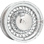 Hot Rod Wire Wheel | Chrome