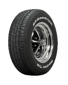 BF Goodrich Radial T/A | White Letter | 155/80R15