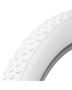 White Rubber Tires Cokers Tires