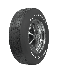 Firestone Wide Oval | Raised White Letter | E70-14
