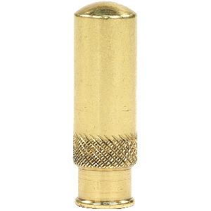 Early Brass Dust Cover | 2 Inch Tall
