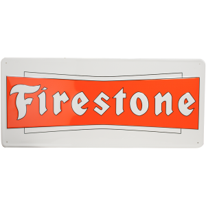 Metal Sign | Firestone Bowtie