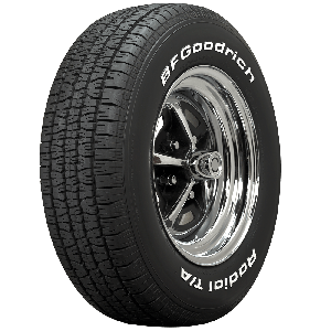 BF Goodrich Radial T/A   White Letter   275/60R15
