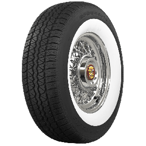 BF Goodrich Silvertown Wide Whitewall Radials