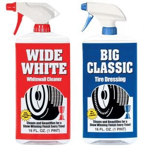 Tire Cleaner and Dressing package