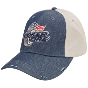 Coker Tire Denim Mesh Hat
