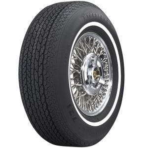 "Firestone Steel Belted 721 LR78-15 3/4"" Whitewall"