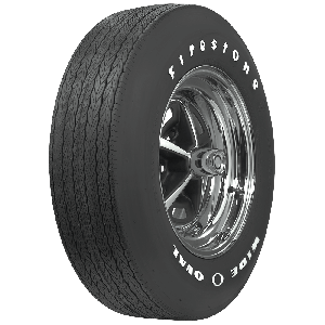 Firestone Wide Oval | Raised White Letter | F70-14
