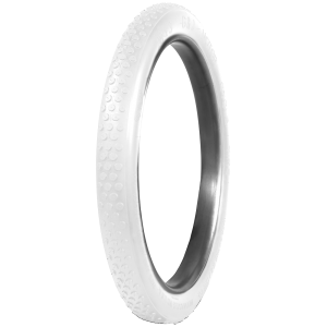 G&J Button Tread Clincher Cycle | All White | 28 x 2-1/2