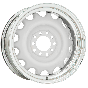 Artillery Wheel | Primer Center / Chrome Outer