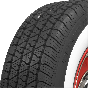 BF Goodrich Silvertown Radial | 2 1/4 Inch Whitewall | 185/70R15