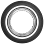 Coker Classic Cycle | 1 Inch Whitewall | 500-16